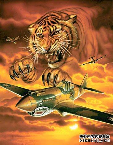 吞噬日寇的老虎:飞虎队和他们的P40战斗机