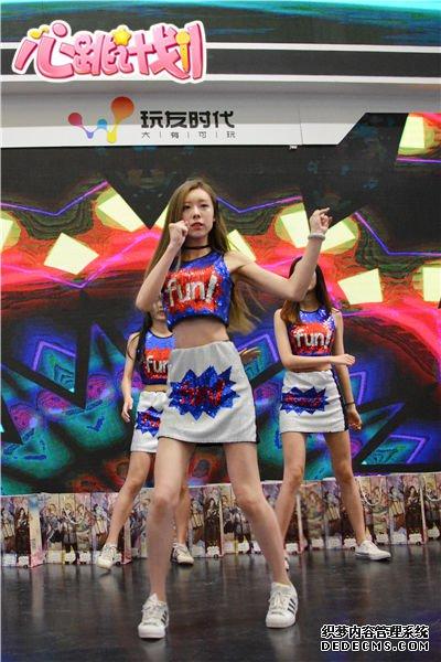 舞力全开 《变态网页游戏私服》热舞开场引爆2017ChinaJoy