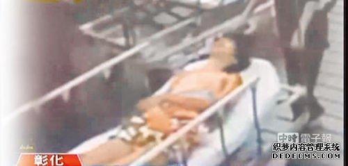 詹淳寓被众人连续凌虐后送医不治(摘自TVBS网站)。