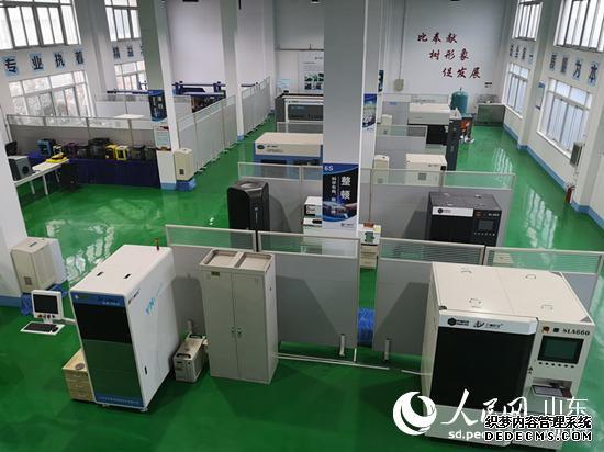 位于即墨区的三迪时空3D打印智能制造加工服务中心。(摄影 刘颖婕)