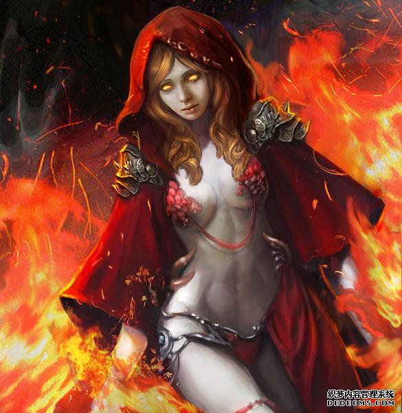 光之女祭《君王权谋》英雄红袍女人物介绍