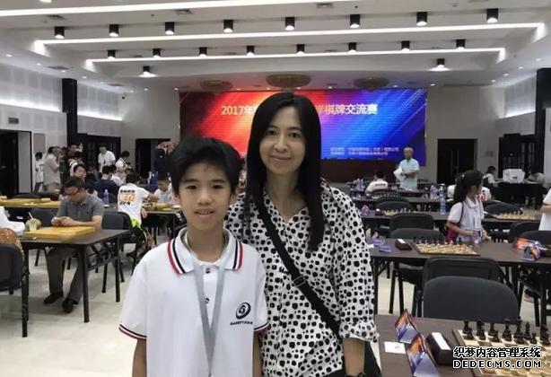 11岁台北男孩陈楷钧:来北京参赛非常开心