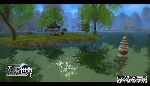 清波白塔西子湖