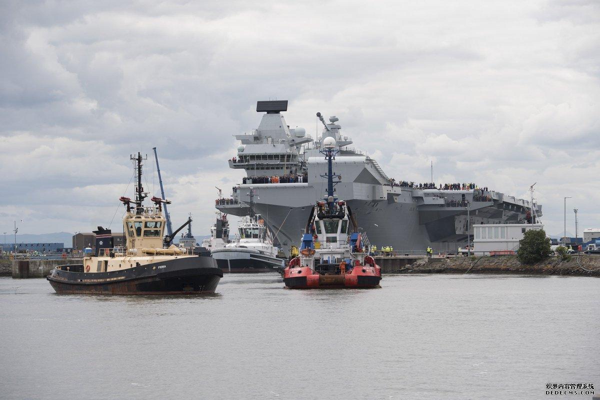 英国新航母又漏水了 200吨海水涌入舰员险些溺亡