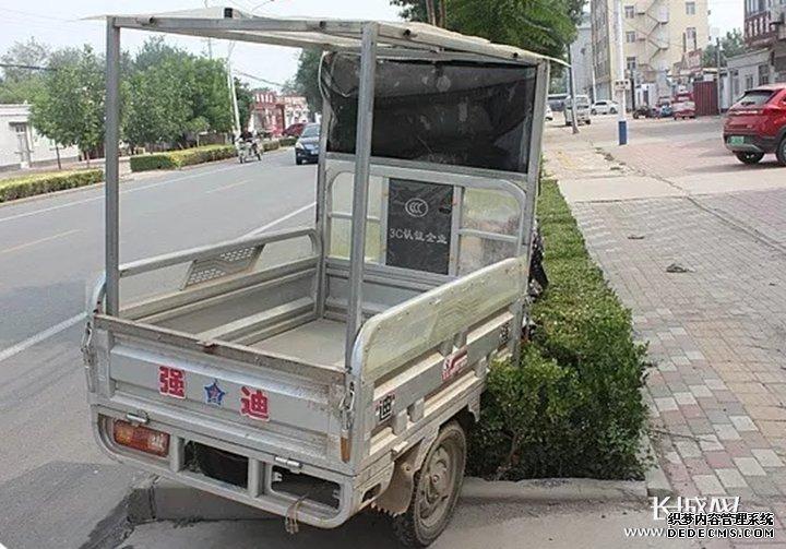 视频|电动三轮车撞死路人 交警认定其负全责