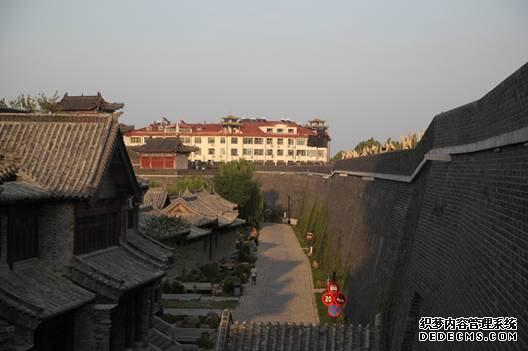 青州古城修复后的古城墙2