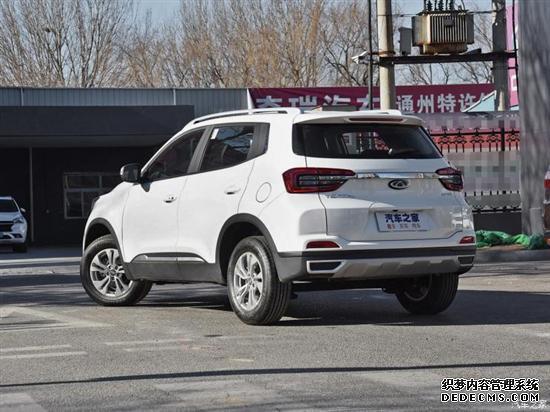 外观汲取瑞虎5x设计 曝凯翼全新SUV谍照