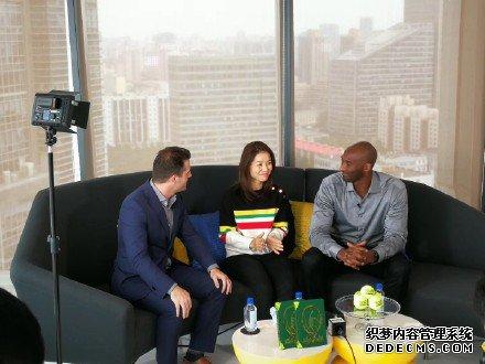 传奇相遇!科比李娜北京会面 探讨青少年体育教育